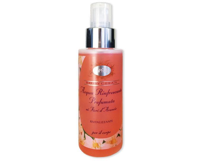 Acqua rinfrescante profumata ai Fiori d'Arancio